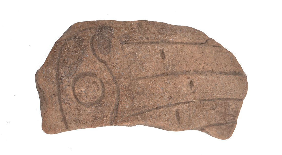 Fragment of pottery