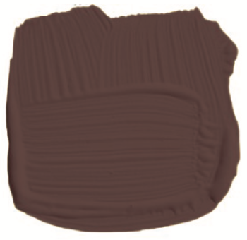 Brown color paint swatch