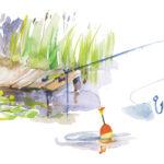 fishing illustration