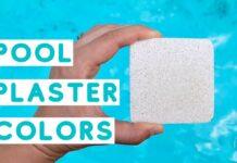 pool plaster sample