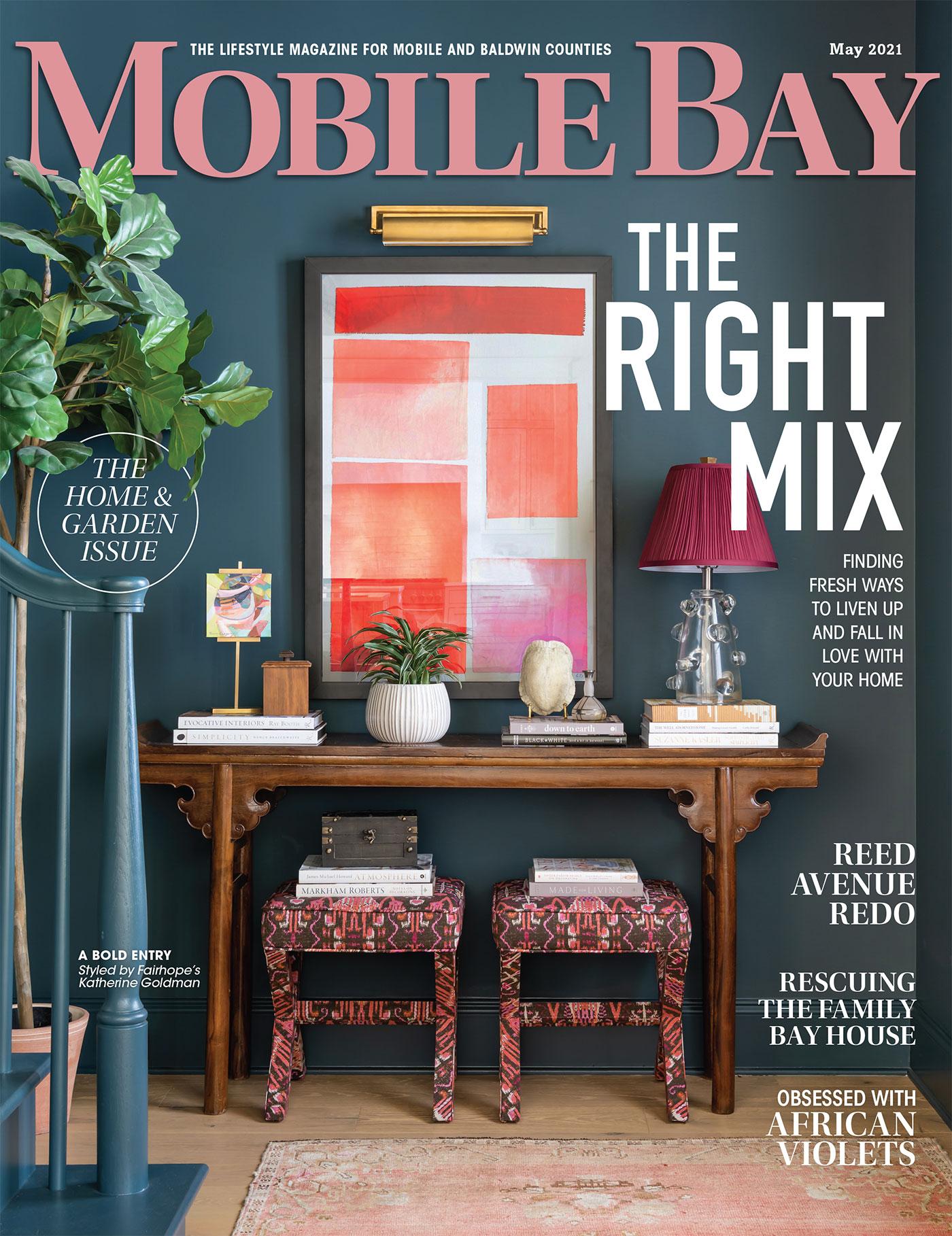Mobile Bay Magazine cover